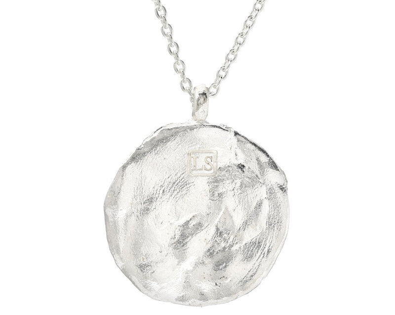 Western Wall Imprint Ex-Large Pendent Necklace