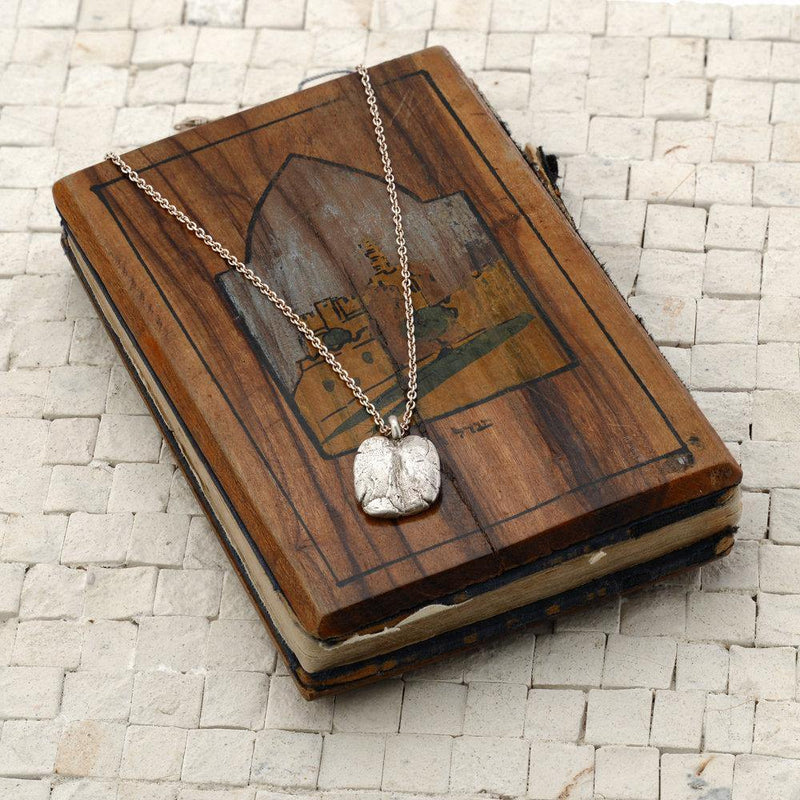 Customizable Western Wall Pendant Necklace