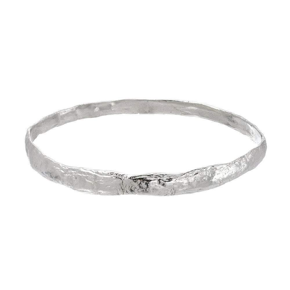 Western Wall Imprint Bangle Bracelet