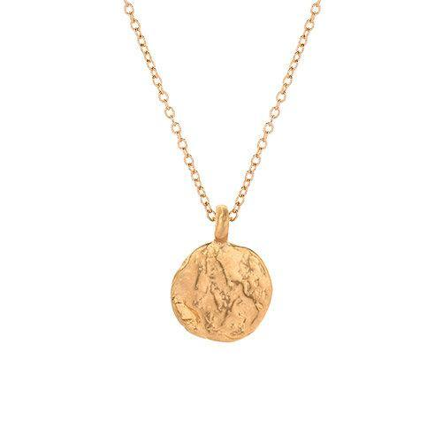 14K Gold Necklace With Western Wall Imprint