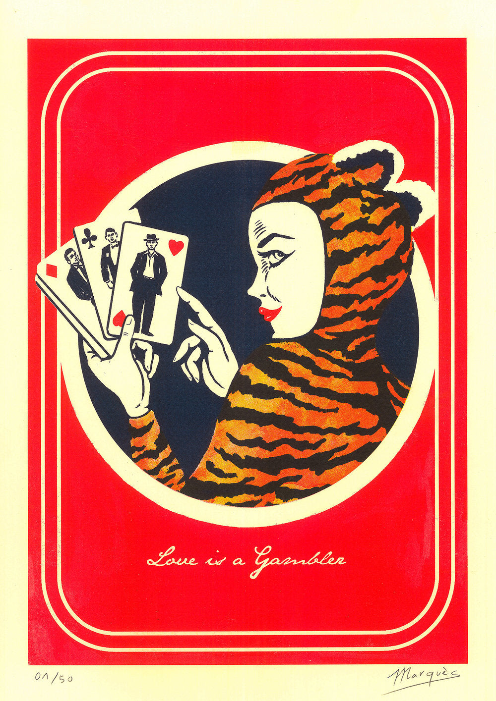 LOVE IS A GAMBLER