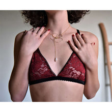 Load image into Gallery viewer, Bralette Frida - Abricot Atelier