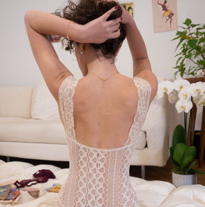 "Body in pizzo ""24 Mila Baci"" - Abricot Atelier"