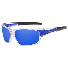 "Load image into Gallery viewer, Sunglass ""Square blue"" polarized"
