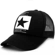 "Load image into Gallery viewer, Trucker Cap ""Star"""