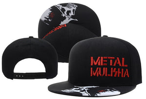 "Flat Brim Cap ""Punisher Metal"""