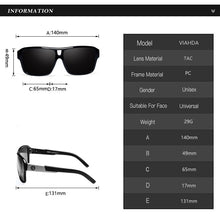 "Load image into Gallery viewer, Sunglass ""Skyline blue"" polarized"