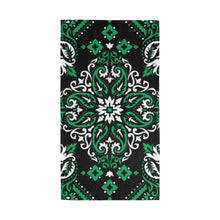 "Load image into Gallery viewer, Bandana ""Green Flower"""