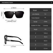 "Load image into Gallery viewer, Sunglass ""Skyline black"" polarized"