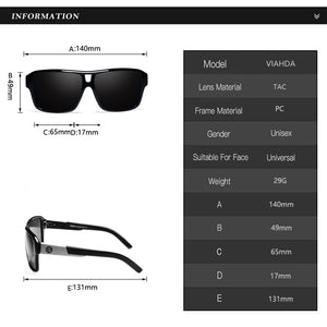 "Sunglass ""Skyline black"" polarized"