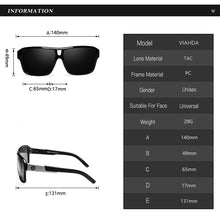 "Load image into Gallery viewer, Sunglass ""Skyline green"" polarized"