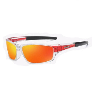 "Sunglass ""Square red"" polarized"