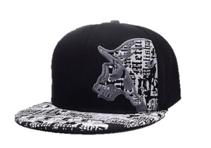 "Flat Brim Cap ""Punisher Letter"""