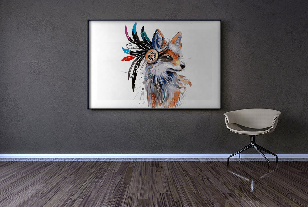 Feathered Fox