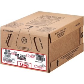 Diet Coke - 5 gallon bag-in-box syrup