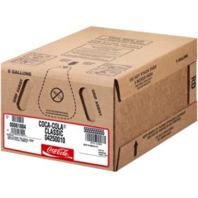 Coca-Cola - 5 gallon bag-in-box syrup