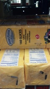 James Farm - Yellow American Cheese - 5 lbs/160 Slices