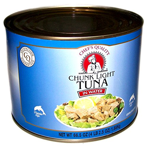 Chef's Quality - Chunk Light Tuna in Water - 66.5 oz Can