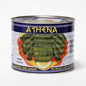 Athena - Stuffed Grape Leaves (Dolmades) - 2kg Can