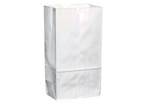 Paper White Bags- 6lb- 500ct