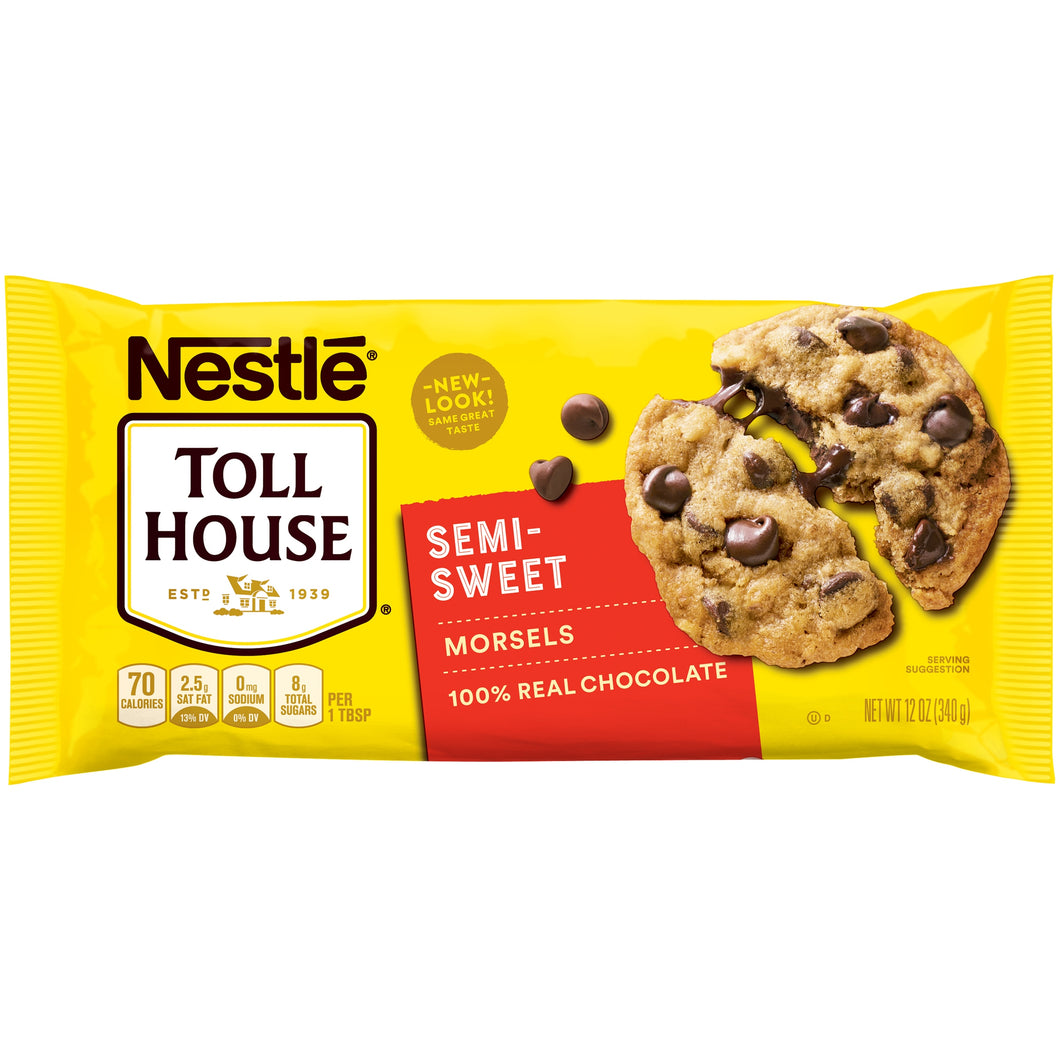 Nestle semi sweet choco chip cookies