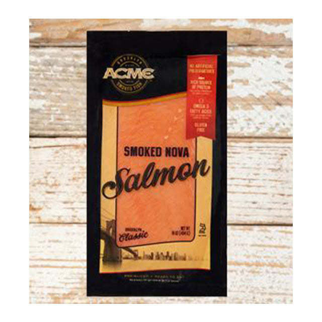 Acme Pre-Sliced Smoked Atlantic Salmon (Nova)