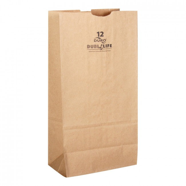 Paper Brown Bags #12lb - 500ct
