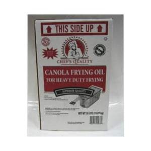 Chef's Quality - Clear Canola Frying Oil - 35 lbs