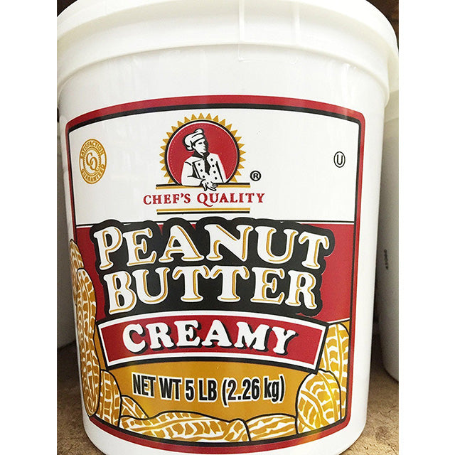 Chef's Quality - Creamy Peanut Butter - 5 lb tub
