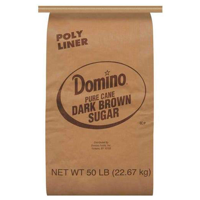 Domino Dark Brown Sugar - 50 lbs