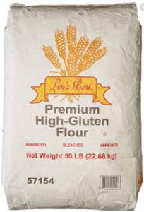 Lenz's Best - High Gluten Flour - 50 lbs