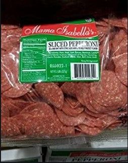 Mama Isabella - Sliced Pepperoni- 12.5 lbs