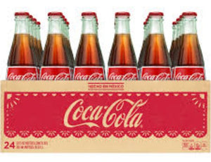 Mexican Coca-Cola - 24/12 oz glass bottles