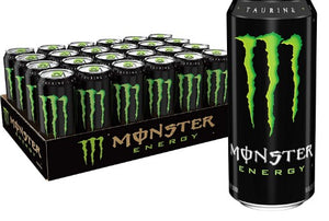 Monster Energy Drink - 24/16 oz cans
