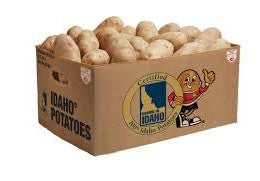 Russet Potato - 50 lb Bag, 6oz Min, US #2