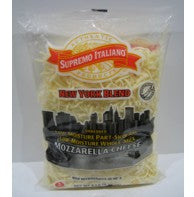 Supremo Italiano - Shredded NY Cheese Blend - 5 lb Bag