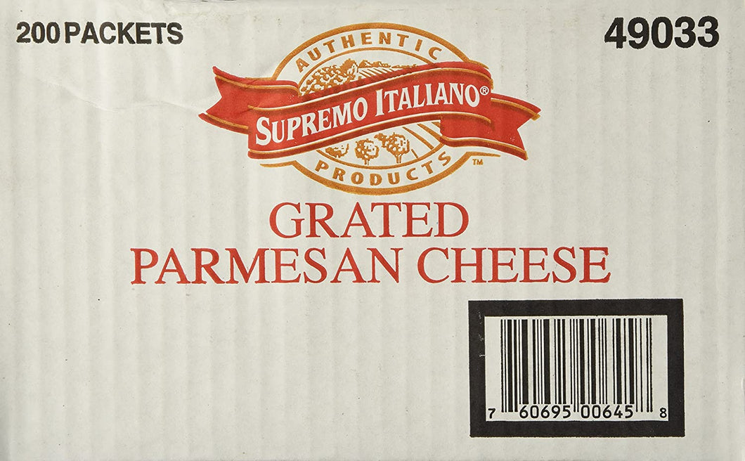 Supremo Italiano - Parmesan Cheese - 200/3.5 gram packets