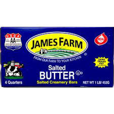 James Farm - Salted Solid Butter - 1 lb
