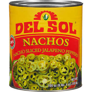 Del Sol - Nacho Sliced Jalapeno Peppers