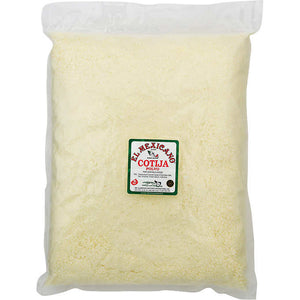 El Mexicano - Grated Cotija Cheese - 5 lbs