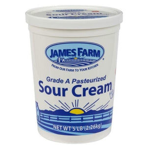James Farm - Sour Cream - 32 lbs