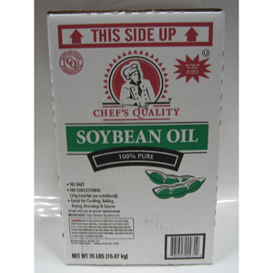 Chef Quality - Creamy Soybean Fry Oil, zero trans fats - 35 lbs