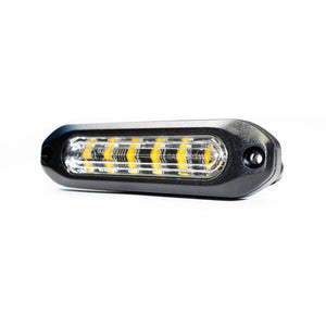 Slim Amber Warning Light - SAE Compliant 10-20195
