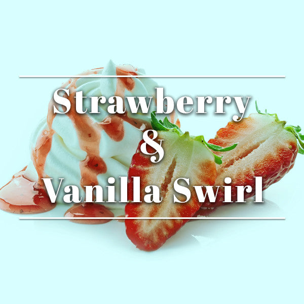 Strawberry & Vanilla Swirl