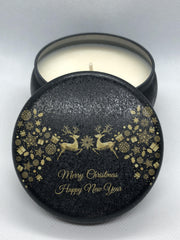 Coconut & Lime Splice / Christmas Tin