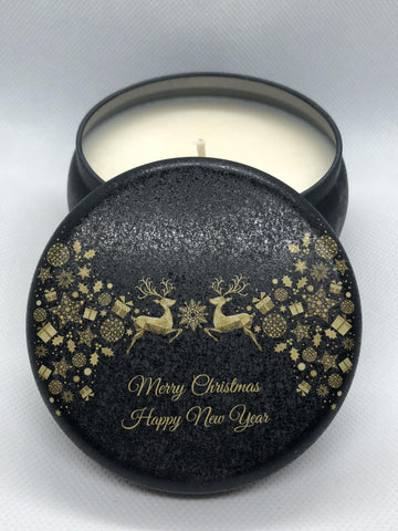 Kaffir Lime & Sandalwood / Christmas Tin