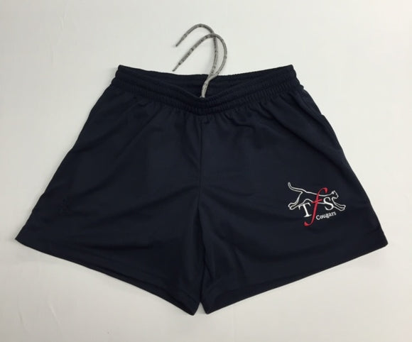 Girls Gym Compression Shorts