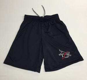 Youth Cotton Gym Shorts