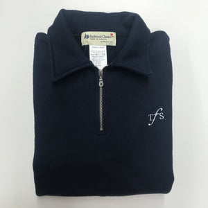 Adult Half Zip Sweater