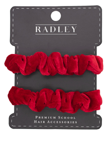 Poppy Velvet Scrunchie